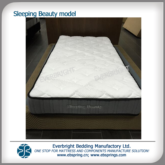 2017 New Roll Ng Spring Mattress Sleeping Beauty Model